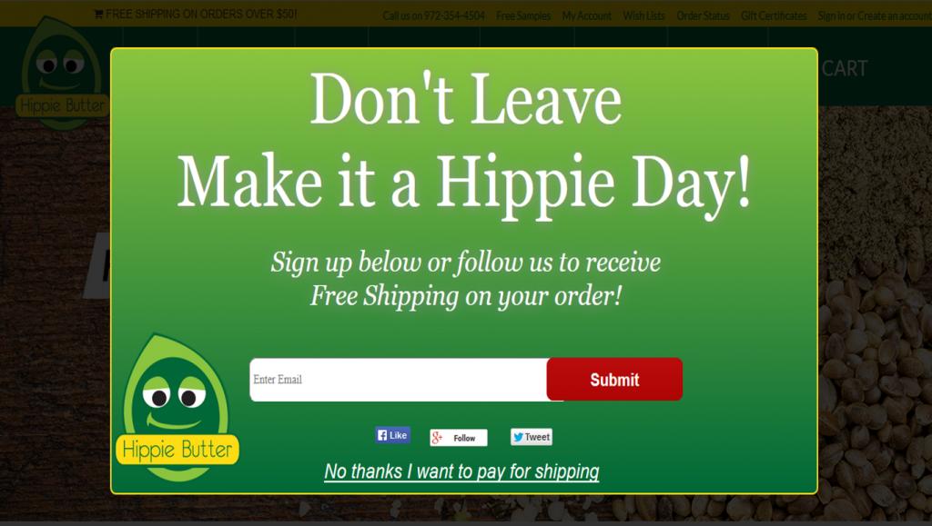 hippiebutter coupon
