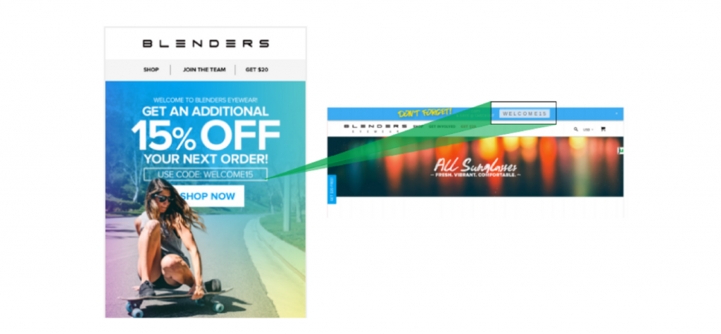 Blenders Coupon Continuity