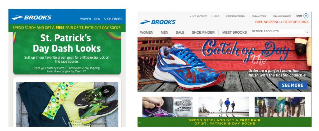 Brooks Running Coupon Continuity