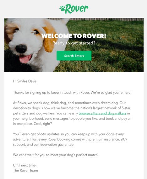 Rover Email Branding