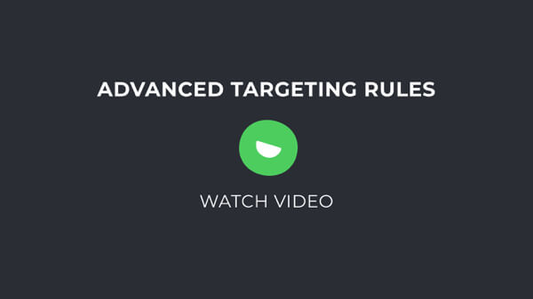 Advanced Targeting Rules
