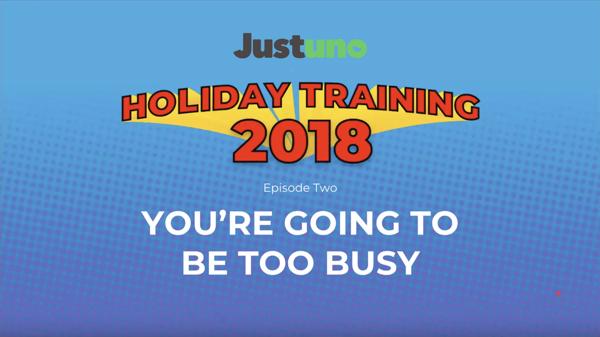 Holiday Training Episode 2 2018