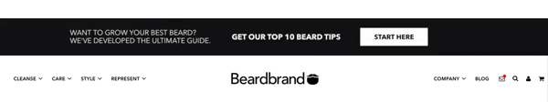 BeardBrand Content Banner