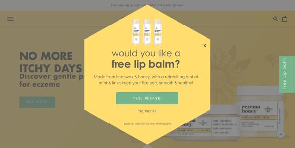 Intro Screen Eczema Honey