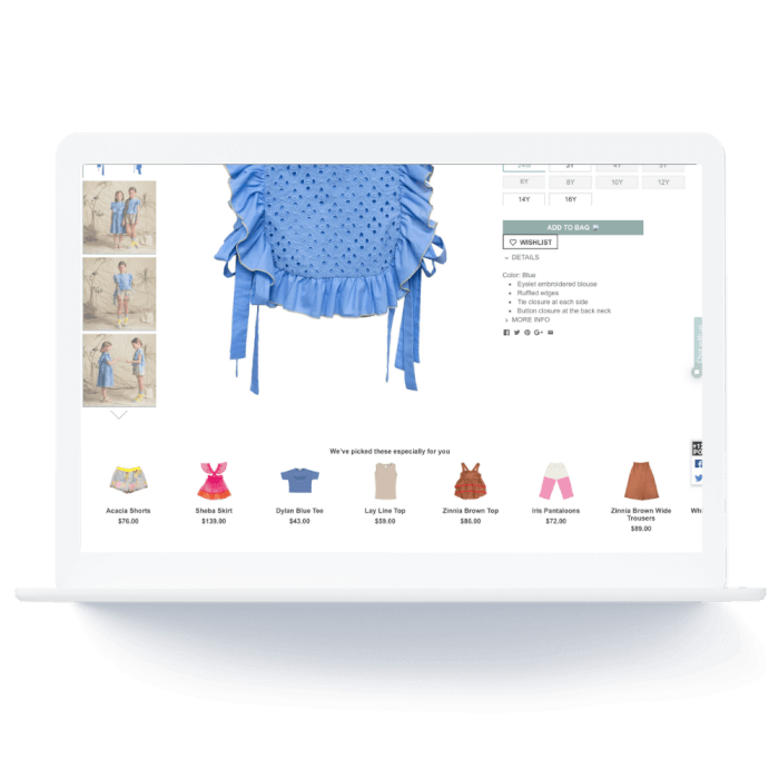 AI powered product recommendations