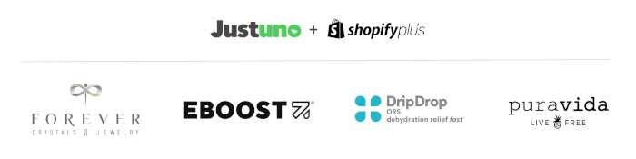 Justuno Shopify Plus Clients