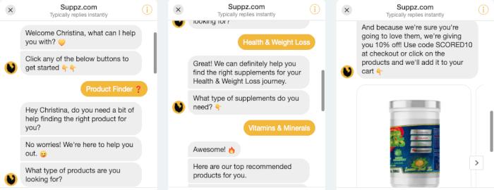 Suppz Messenger Bot