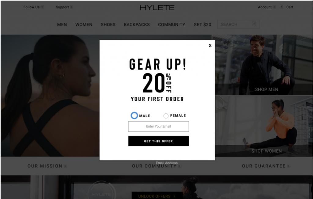 HYLETE pop-up