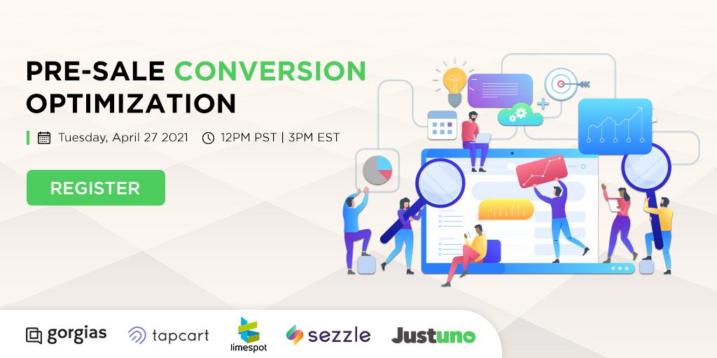 Gorgias Pre-Sale Conversion Optimization